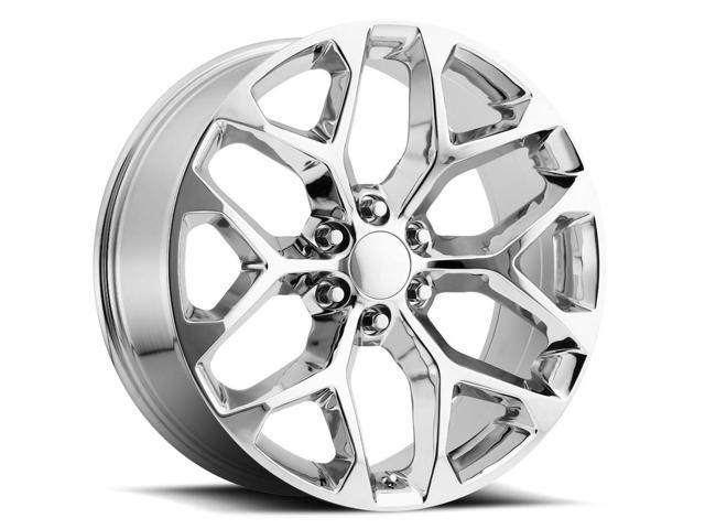 4 New 24 Inch Replica V1182 Gm Snowflake 24x10 6x139 7 27mm