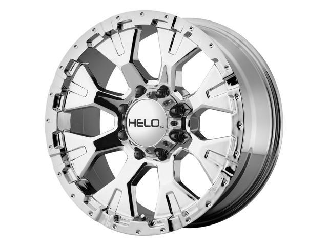 16 Inch 16x9 Helo He878 6x139 76x5 5 12mm Chrome Wheel Rim
