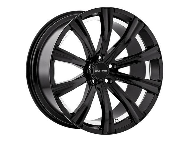 20 Inch Sothis Sc 102 20x10 5x114 35x4 5 40mm Gloss Black