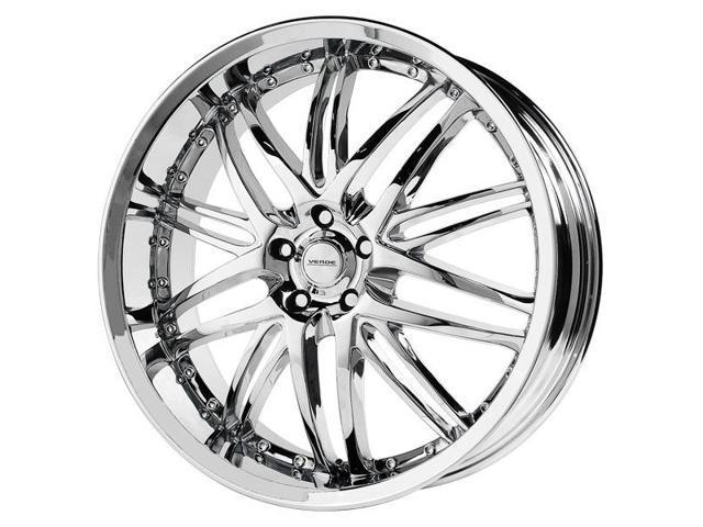 18 Inch Verde V55 Kaos 18x8 5x115 38mm Chrome Wheel Rim
