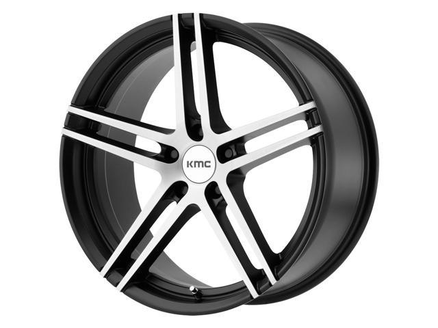 19 inch 19x8 5 kmc km703 monophonic 5x112 35mm black brushed wheel ML350 with Black and Chrome Wheels 19 inch 19x8 5 kmc km703 monophonic 5x112 35mm black brushed wheel