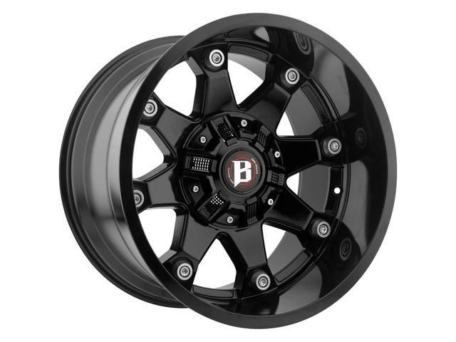 4 20 Inch Ballistic 581 Beast 20x10 8x170 8x180 24mm Gloss Black Wheels Rims Newegg Com