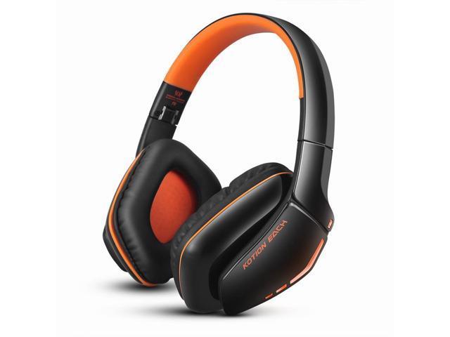 379b270d78f COOAU EACH B3506 Wireless Bluetooth Headset Folding Lightweight Convenient  3.5mm Wired and Wireless Dual Headphone