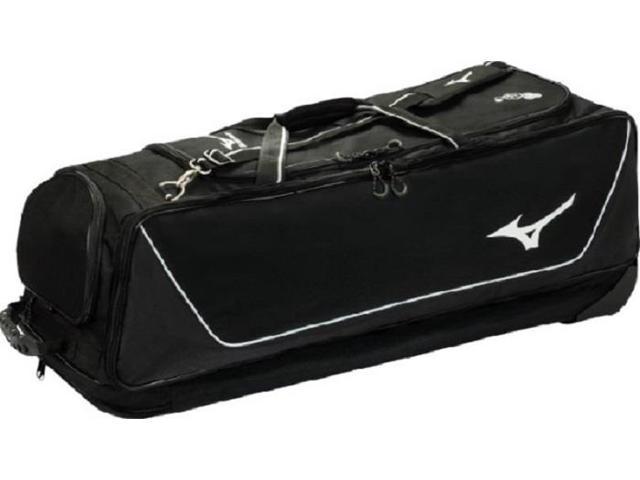 Mizuno 360177 Black MP Elite Wheeled Equipment Bag Baseball   Softball New! def283e64