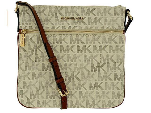 45615a6be5da Michael Kors Bedford Flat Cross Body VANILLA 32H5GBFC2V-150 ...