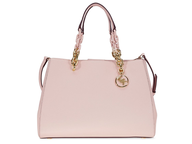 michael kors cynthia saffiano leather satchel soft pink rh newegg com