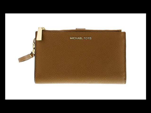 137bd6235fb2c MICHAEL Michael Kors Adele Double-Zip iPhone 7 Plus Wristlet ...