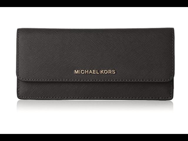 babe2f37d52b Michael Kors Jet Set Travel Wallet in Black 32F3GTVE7L-001 ...