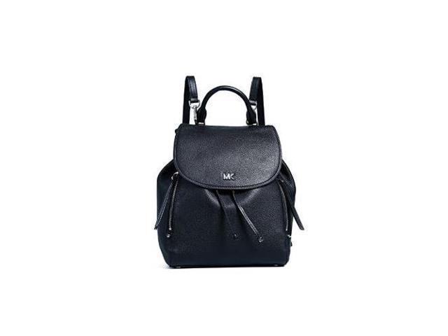 1fd4c10bc17736 MICHAEL Michael Kors Women's Evie Medium Backpack, Black, One Size  30S8SZUB2L-001