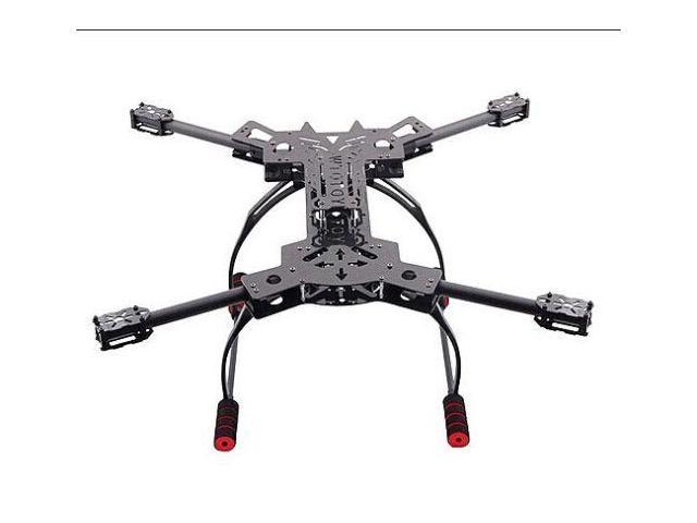 H4 680mm Alien Carbon Folding Quadcopter Frame Kit w/ PVC Landing ...