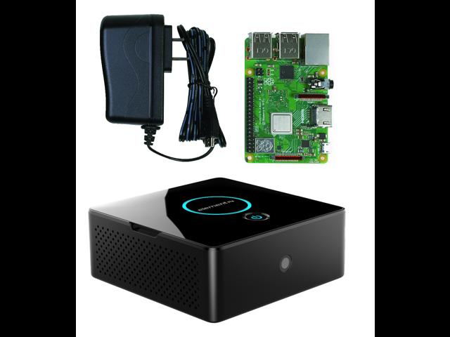 DIY Pi Desktop Case - Desktop Computer Kit for the Raspberry Pi 2 / 3 (With  Raspberry Pi 3 B+ & 5 1V 2 5A PSU) - Newegg com