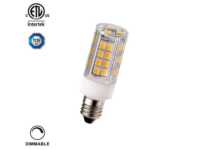 3 5w 40w Equiv Dimmable E11 Led Light Bulb Etl Listed 400lm 3000k Warm White Ceiling Fans Line Voltage Pendants Desk Table Floor Lamps