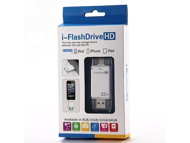 32GB USB i-Flash Drive U Disk 8pin Memory Stick Adapter For iPhone 5 5S 6 plus (Althemax)
