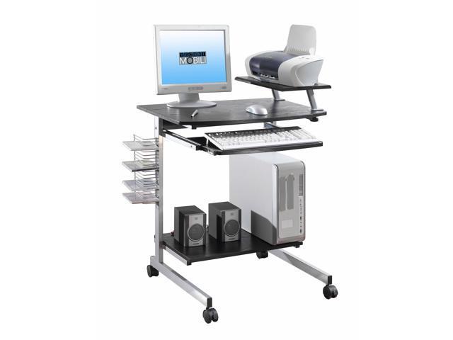 Techni Mobili RTA 2018 ES18 Compact Computer Desk   Espresso