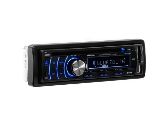 BOSS AUDIO BV6654B Single-DIN In-Dash DVD/MP3/CD & AM/FM Receiver with  Bluetooth(R) - Newegg com