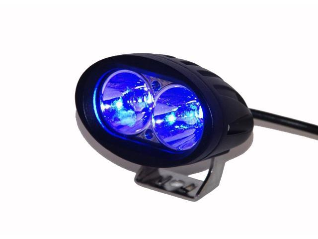 Blue Forklift Led Light Warehouse Safety Warning Lamp Spot Offroad Race 12V  48V - Newegg com
