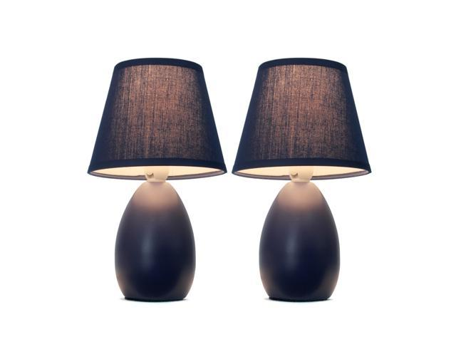 Mini Egg Oval Ceramic Table Lamp