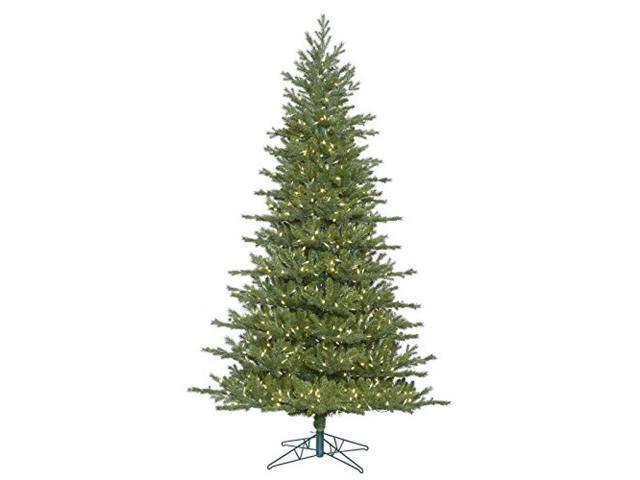 Frasier Fir Christmas Tree.Vickerman 410387 4 5 X 33 Eastern Frasier Fir Tree With 150 Warm White Led Lights Christmas Tree G160646led Newegg Com