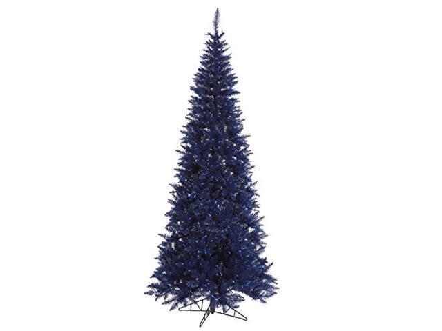 "4.5' X 24"" Navy Blue Slim Fir Tree"