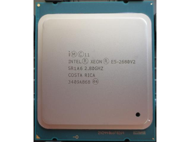 Refurbished: Intel Xeon E5-2680 v2 10-Core 2 8GHz SR1A6 Ivy Bridge-EP  LGA2011 CPU Processor - Newegg ca