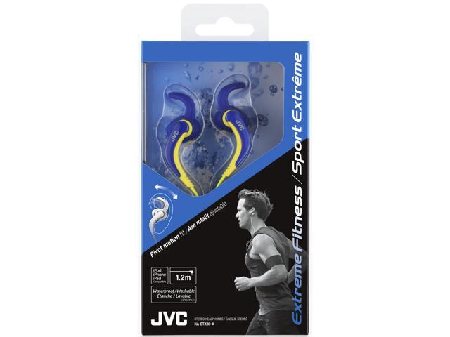 Headphones holder under desk - JVC HAF140AN (Blue) Overview
