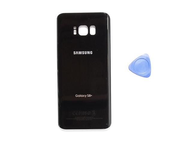 e85301ab0 Samsung Galaxy S8 PLUS OEM Midnight Black Rear Back Glass Lens Battery Door  Housing Cover +