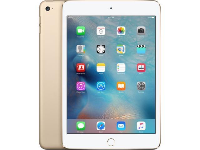 Apple iPad mini 4 with WiFi 128GB(MK9Q2ZP/A) (Gold) - Newegg com