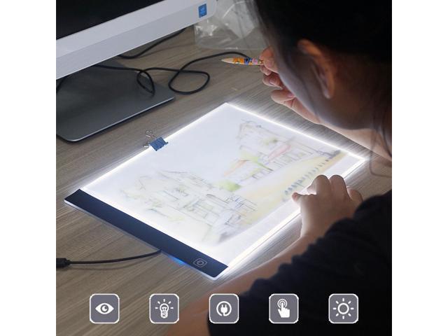 A4 Tracing Light Box Artist Tattoo Ultra Thin Portable Led Artcraft