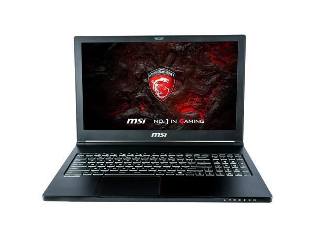 "CUK MSI GS63VR STEALTH PRO Gamer VR Ready Notebook (Intel i7-7700HQ, 16GB DDR4, 120GB SSD + 1TB HDD, NVIDIA GTX 1060 6GB) - 15.6"" Full HD, Windows 10, Portable Ultrabook Gaming Laptop Computer"