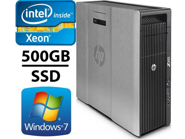 Refurbished: HP Z620 Workstation Computer 2x E5-2640 Six Core upto 3 0GHz  32GB DDR3, 500GB SSD and 2TB HDD, 2GB Nvidia GeForce GT 730, Wifi,