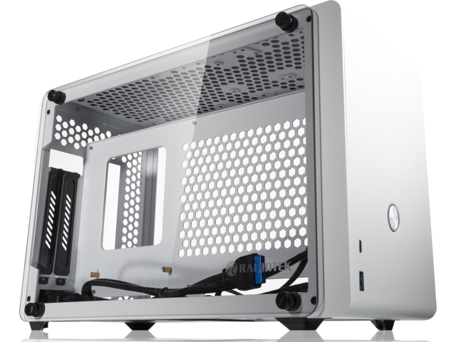 RAIJINTEK OPHION WHITE, a SFF case, is designed to fulfill a smallest case built with max. possibility high-end, gaming and standard components, such as powerful full–length VGA card, 330mm length