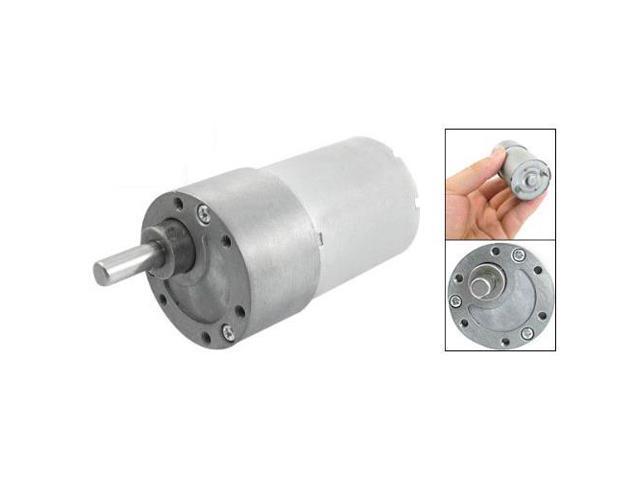 300 RPM DC 12V 2 4W Torque Gear Box Electric Speed Reduce Motor - Newegg ca
