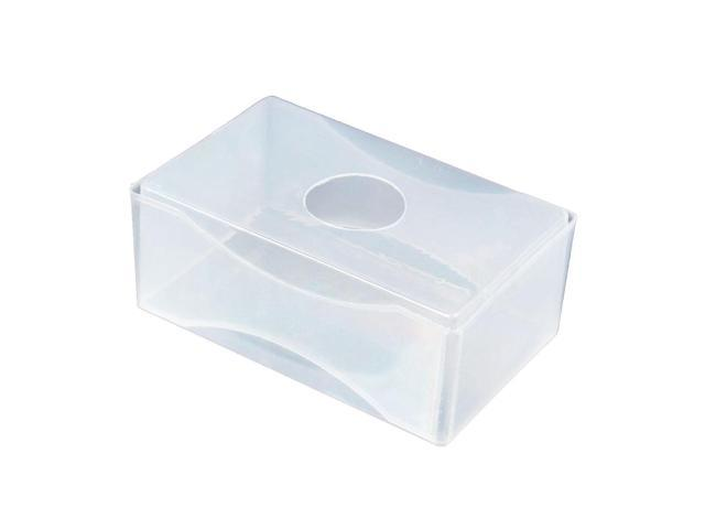 Sodial 10 X Business Card Box Plastic Holders Clear Craft Beads