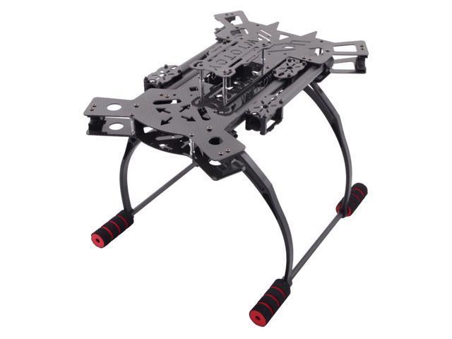 SODIAL HJ-H4 Reptile Carbon Fiber Folding 4-axis Quadcopter Frame ...