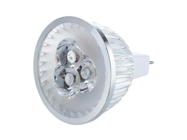 SODIAL MR16 LED Spot Light Bulb 3 White Light 6500K 6W DC / 12V AC -  Newegg ca