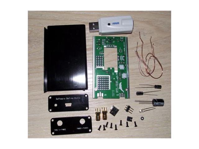 SODIAL DIY Kit 100KHz-1 7GHz FM DSB UV HF RTL-SDR USB Tuner Receiver R820T+  RTL2832U CW - Newegg com