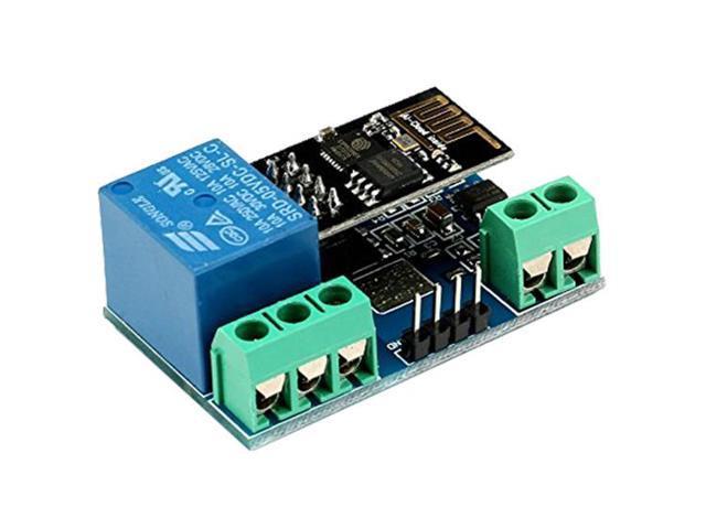 SODIAL 1PCS ESP8266 5V WiFi Relay Module Things Smart Home Remote Control  Switch Phone APP - Newegg com