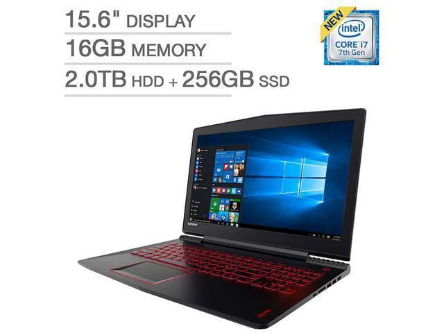 "Lenovo Y520 (80WK00F9US) 15.6"" IPS Intel Core i7 7th Gen 7700HQ (2.80 GHz) NVIDIA GeForce GTX 1050 Ti 16 GB Memory 256 GB PCIe SSD 2 TB HDD Windows 10 Home ..."