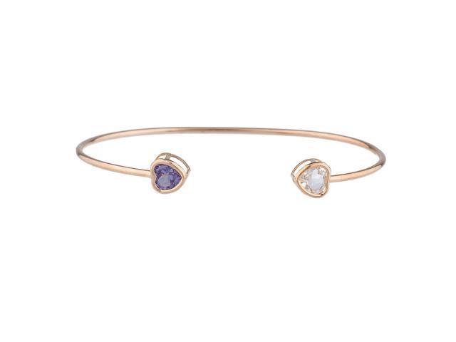 Black Opal /& White Opal Bezel Round Bracelet .925 Sterling Silver