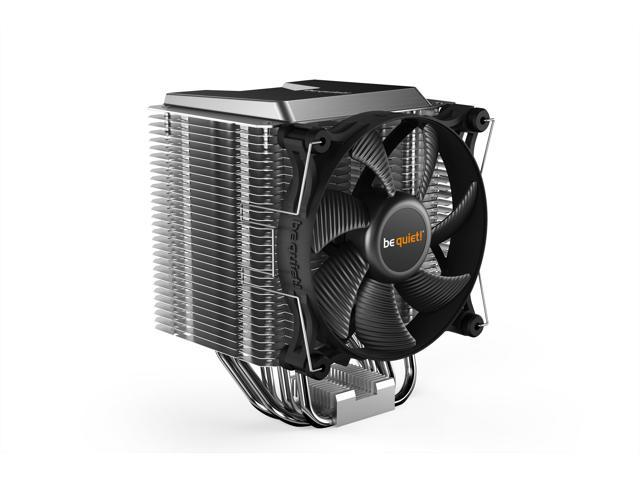 be quiet! Shadow Rock 3, CPU cooler, 190W TDP, decoupled silent Shadow Wings 2 120mm PWM high-speed fan, asymmetrical construction avoids blocking memory slots