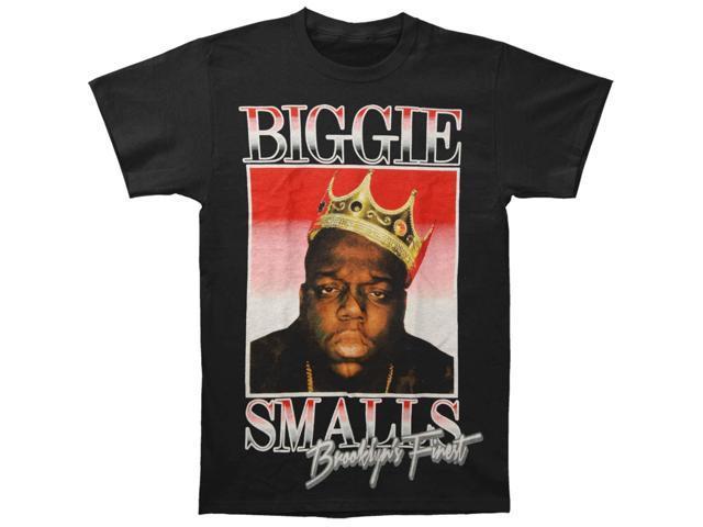 f78a9ce7 Notorious B.I.G. Men's Biggie Brooklyn's Finest T-shirt Small Black ...