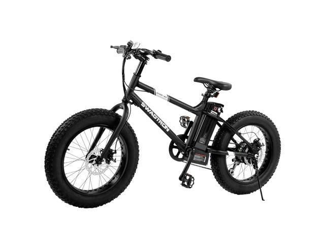 "bf9431678ba ... 7 Speed Shimano SIS Shifting, Power Assist, 350W Motor, Fat 20"" Tires.  Removable 36V Lithium Ion Battery, Dual Disk Brakes - Electric Bike Built  for ..."