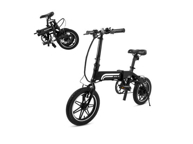 fe06cf1a1df Swagtron SwagCycle EB Pro Lightweight and Aluminum Folding EBike with  Pedals