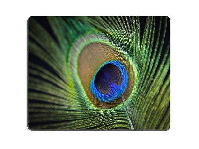 Gaming Mousepad Detail Of A Peacock Feather Peacock Is Symbol Of