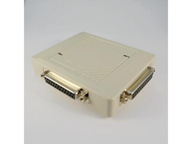 2 Port Auto Printer Switch Box Parallel Sharing Adapter For Wire