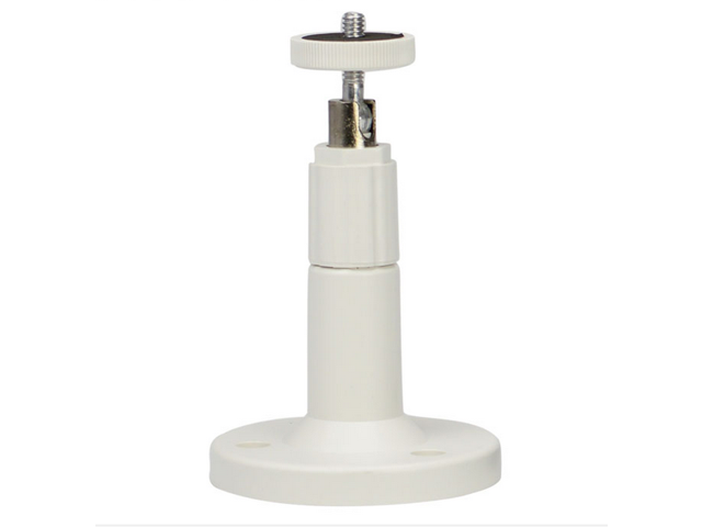 White Mini Plastic Wall Ceiling Mount Bracket Tripod Stand for CCTV IP  Security Camera 12cm High - Newegg com