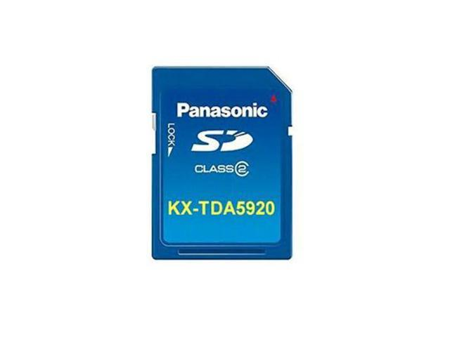 Panasonic Business Systems KX-TDA5920 CTI/Network system application  software for TDA50  SD Card that contains software to support Enhanced CTI