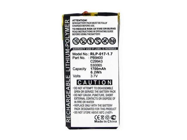 philips pronto tsu 9400 remote control battery rlp 017 1 7 li pol rh newegg com Clip Art User Guide User Manual