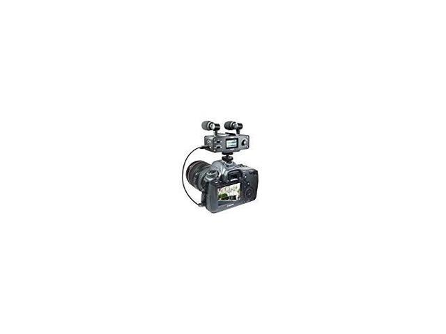 with SDC-26 Case Sony FDR-X1000V Camcorder External Microphone Vidpro XM-AD5 Mini Pre-Amp Smart Mixer with Dual Condenser Microphones for DSLR/'s Video Cameras and Phones