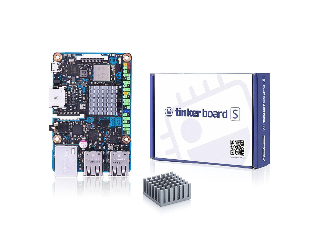 ASUS Tinker Board S Quad-Core 1 8 GHz SoC 2GB RAM